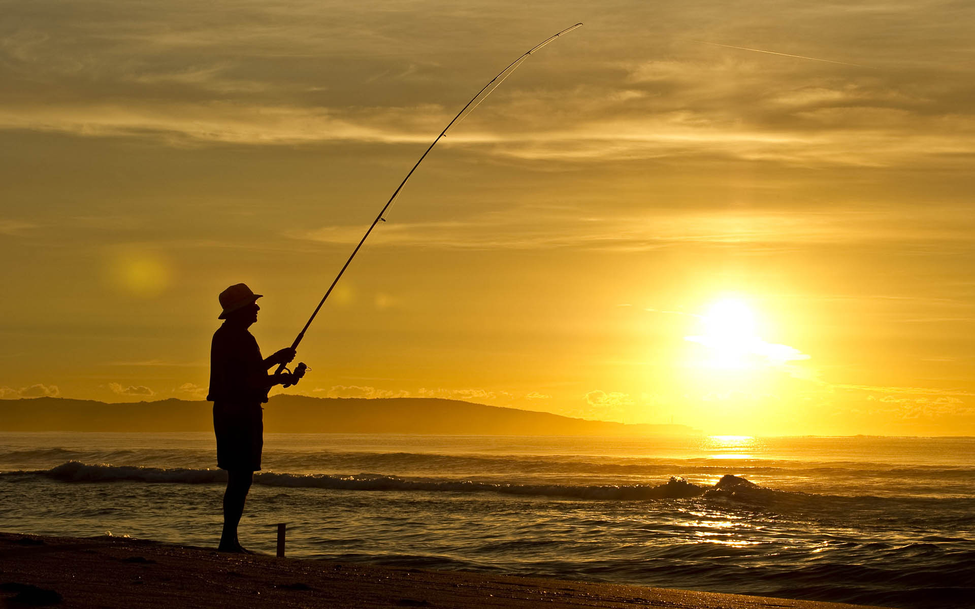 The gallery for --> Beach Fishing